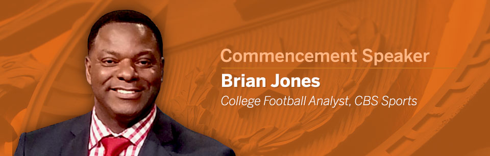 Brain Jones - 2017 Commencement Speaker