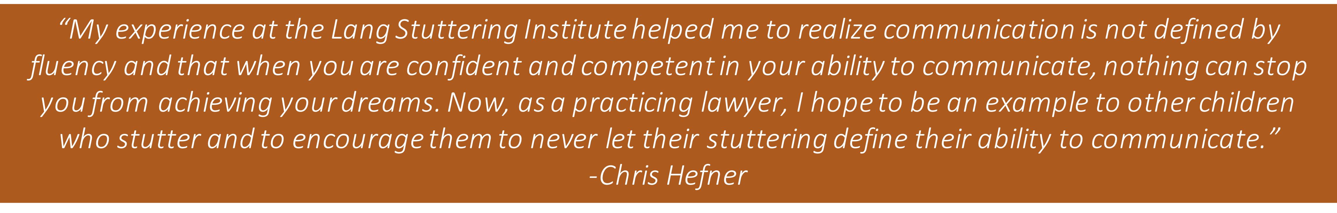 Chris Hefner Quote