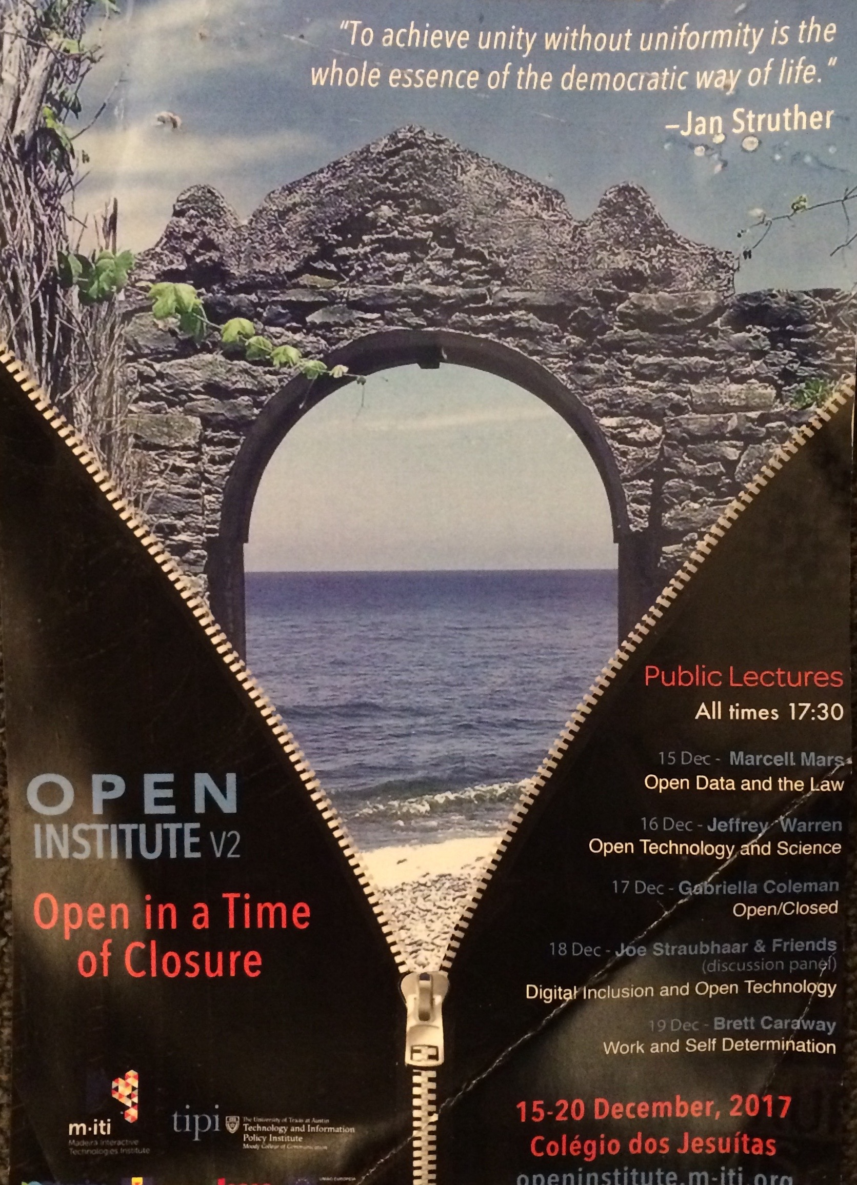 poster for Open Institute2