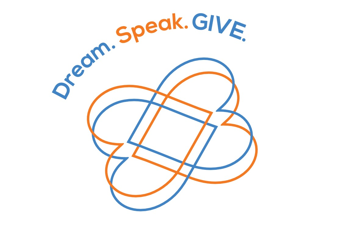 Dream. Speak. GIVE.