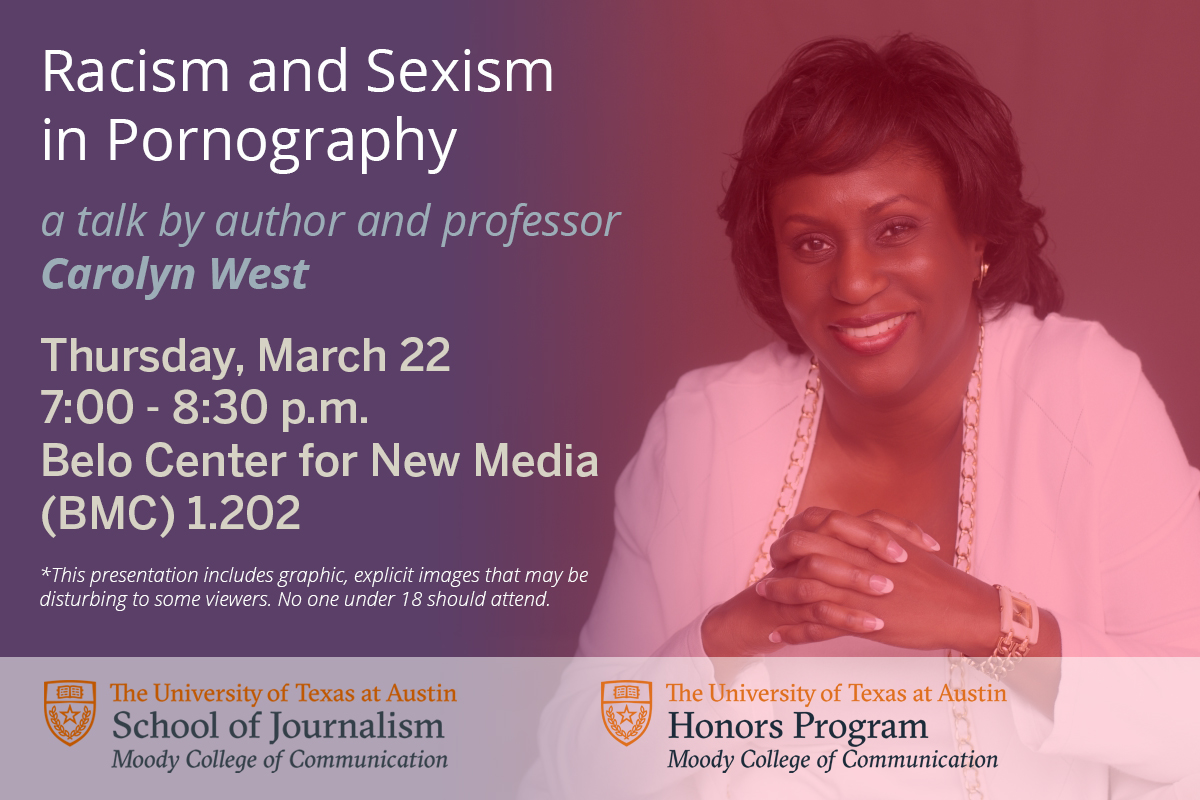 Talk by Carolyn West on Racism and Sexism in Pornography