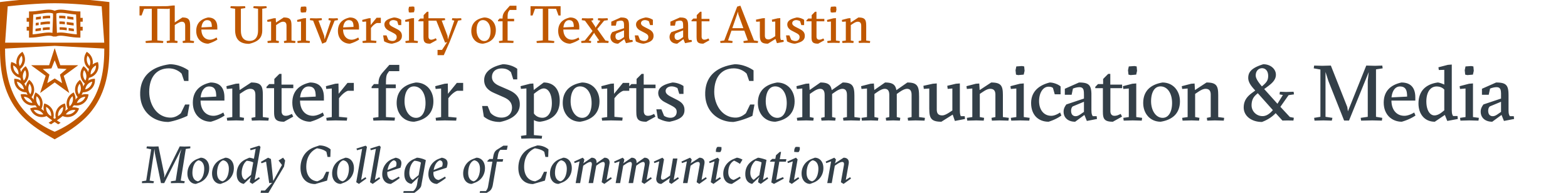 Center for Sports Communication & Media logo