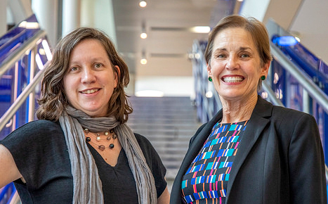 President's Award for Global Learning, Stan Richards School of Advertising and Public Relations faculty, Meme Drumright, Lucy Atkinson
