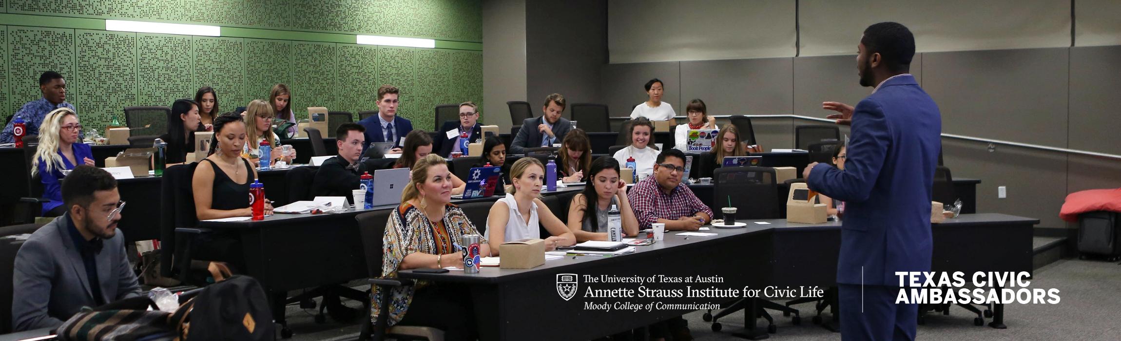 New Politics Forum Texas Civic Ambassadors