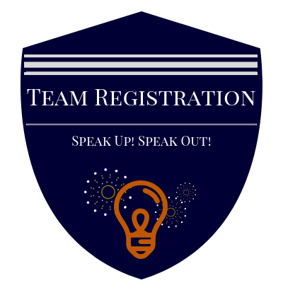 Register your Speak Up! Speak Out! teams