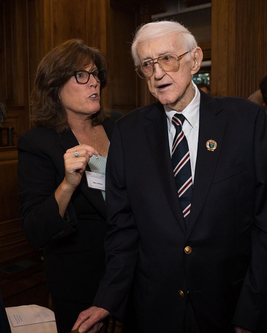 Sally and Dan Jenkins