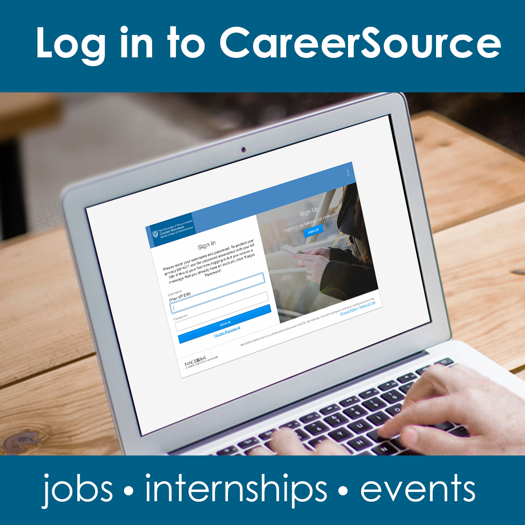 Log in to CareerSource!