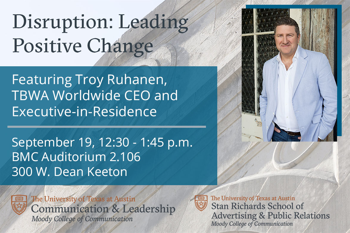 Talk by Troy Ruhanen for Communication and Leadership