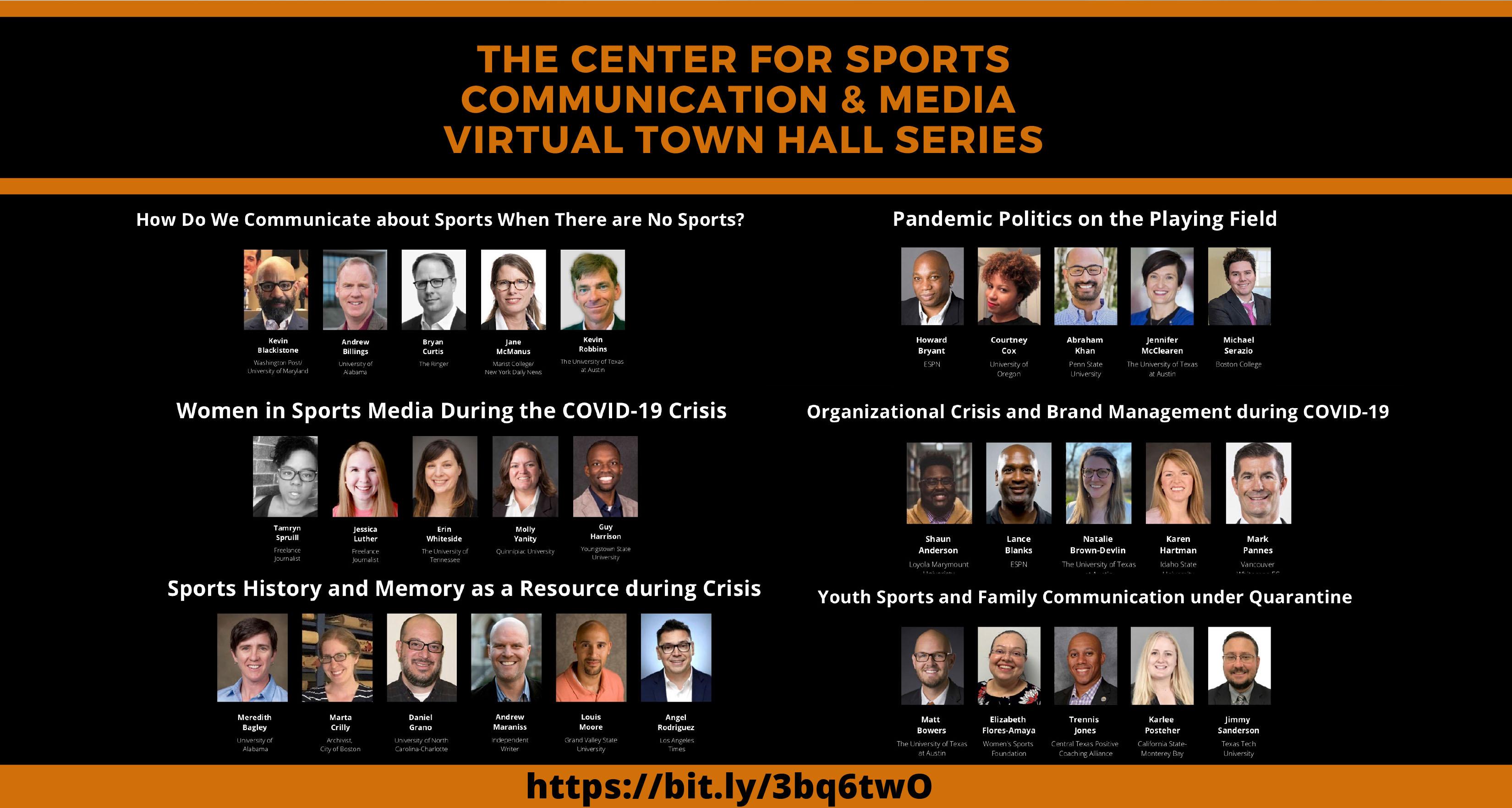 virtual town hall series summary