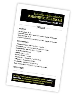 Bodner Program Program