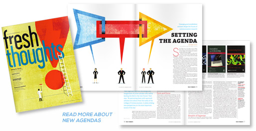 New Agendas article in Fresh Thoughts Magazine