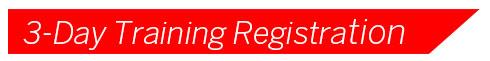 3-Day Training Registration