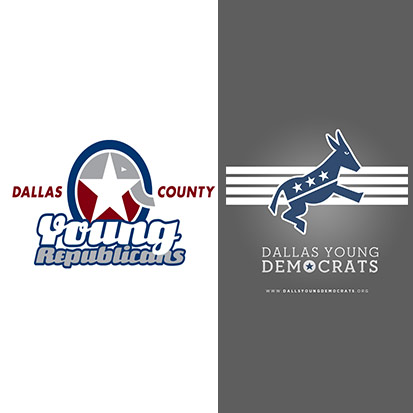 Dallas County Young Republicans and the Dallas County Young Democrats