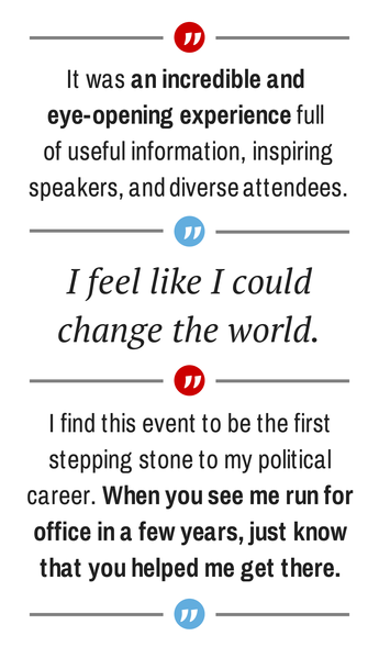 Quotes from 2014 Campaign Bootcamp participants