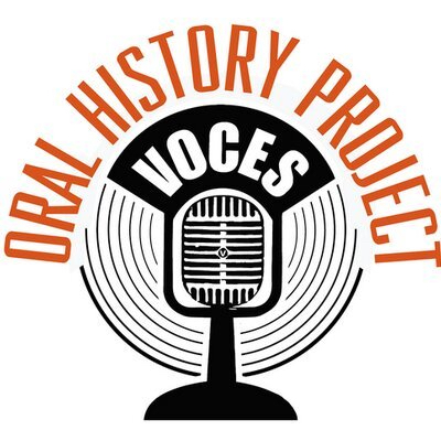 Voces Oral History Project Logo